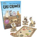 ThinkFun Cat Crimes Logic Game and Brainteaser for Boys and Girls Age 8 and Up – A Smart Game with a Fun Theme and Hilarious Artwork