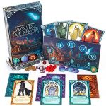 Wolves of Mercia – Ultimate Social Deduction Werewolf Strategy Board Game – 49 Jumbo Tarot Cards – 5-16 Players for Family Game Night