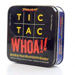 Zobmondo!! Tic Tac Whoa!! 5-in-1 Arrangement Card Game | Relaxing for Devoted Tactical Gamers, Families, and Young of us | Makes a Sizable Reward