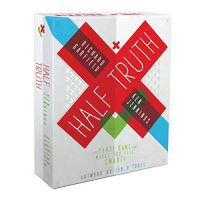 Half Truth Game – The Trivialities Game That Makes You Genuinely feel Neat – Fun Board Game for Events & Events – Easiest Card Deck Video games for Kids,