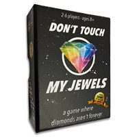 Don't Touch My Jewels Card Sport by Gatwick Games – A Fleet Strategy Sport for Two or More Gamers – Fun Family Games for Adults,