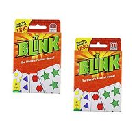 Mattel Video games Blink Card Game The World's Fastest Game- 2 Pack