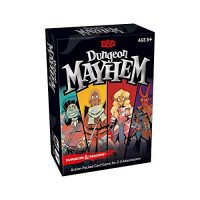 Dungeon Mayhem | Dungeons & Dragons Card Game | 2–4 Players, 120 Playing cards