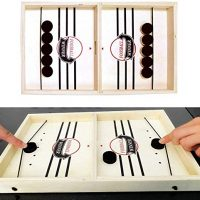 Rapidly Sling Puck Sport ,Slingshot Games Toy,Paced Winner Board Games Toys for Youth & Adults