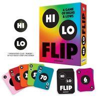 Hi Lo Flip A Card Sport of Highs & Lows