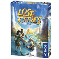 Thames & Kosmos Misplaced Cities: Rivals Card Sport | Draw Auction Rush | Vivid Colors for Two to Four Gamers | Household Generous Enjoyable by Kosmos