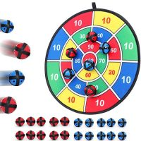 Cloth Inch Board Sport with 20 Balls – Hook-and-Loop Fasteners- 14.5 Inches Diameter – Actual for Kids