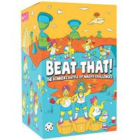 Beat That! – The Bonkers Battle of Wacky Challenges [Family Party Game for Kids & Adults]
