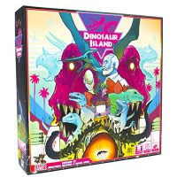 Pandasaurus Games Dinosaur Island – Family-Correct Board Games – Grownup Games for Sport Evening – Card Games for Adults, Younger folk & Kids (1-4 Gamers)