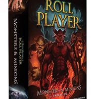 Thunderworks Video games Roll Participant: Monsters and Minions Strategy Boxed Board Game Expansion Ages 12 & Up