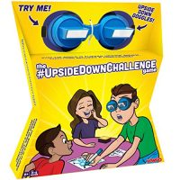 The UpsideDownChallenge Game for Young of us & Family – Total Relaxing Challenges with Upside Down Goggles – Hilarious Game for Game Night and Occasions –