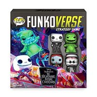 Funkoverse: Disney The Nightmare Before Christmas 100 4-Pack Board Game – Amazon First to Market Weird and wonderful, Multicolor
