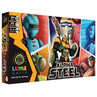 Luma World Approach Board Game for Ages 10 and up: Alpha Metal | STEM Game to Reinforce Numeracy, Approach and Originate More than one Intelligences | 8 Collectible Robot Cards and Fantasy Foreign money Integrated