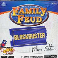 Family Feud Blockbuster, Celebration Quiz Board Recreation, for Adults and Teenagers Ages 12 and up
