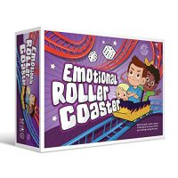 Emotional Rollercoaster | Nettle Administration Board Sport for Kids & Households | Remedy Finding out Sources | Nettle Preserve watch over Card Sport | Emotion…
