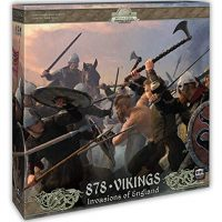 878 Vikings – Invasions of England: Award Winning Board Game of Raiding and Pillaging