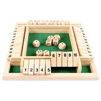 POWSTRO K Double Aspect Numbers Board Video games
