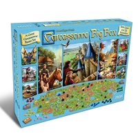 Carcassonne Board Game Expansive Field (BASE GAME & 11 EXPANSIONS) | Family Board Game | Board Game for Adults and Family | Medieval Approach Board…