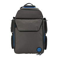 Closing Boardgame Backpack – The Smartest Manner to Lift Your Games – Expandable Multi-Functional Backpack – Lift-on Compliant (Grey/Blue)