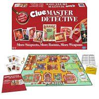 Ample Strikes Games Clue Master Detective – Board Game, Multi-Colored