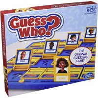 Hasbro Gaming Wager Who? Sport Customary Guessing Sport for Kids Ages 6 and Up for 2 Avid gamers