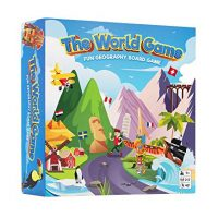 The World Game – Enjoyable Geography Board Game – Academic Game for Young folks & Adults – Ideal for Teenage Boys & Ladies + Wall…