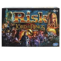 Hasbro Gaming Risk: The Lord of The Rings Trilogy Edition, Approach Board Game for Ages 10 and Up, for 2-4 Avid gamers
